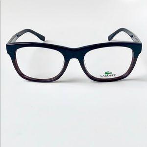Lacoste Square Men/Women Eyeglasses L2739-424 Blue